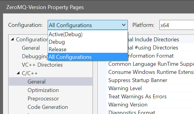 Build and static link ZeroMQ on Windows – Joshua Burkholder